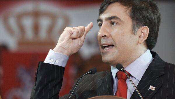 Mijaíl Saakashvili, exmandatario de Georgia - Sputnik Mundo