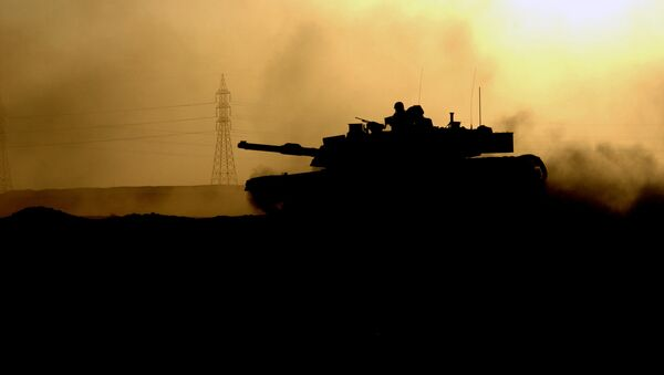 A US Army (USA) M1 Abrams Main Battle Tank (MBT) in Fallujah - Sputnik Mundo
