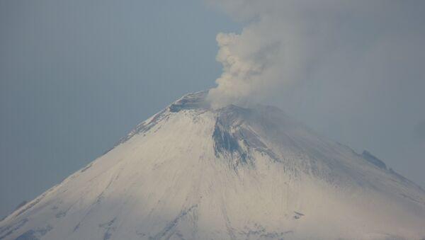 Сráter del Popocatépetl - Sputnik Mundo