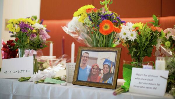 Los palestinos solicitan investigar el asesinato de tres musulmanes en EEUU - Sputnik Mundo