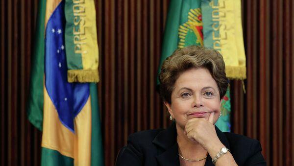 Dilma Rousseff, presidenta de Brasil - Sputnik Mundo