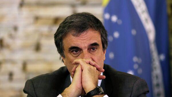 José Eduardo Cardozo, ministro de Justicia de Brasil - Sputnik Mundo