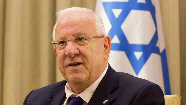 Israeli President Reuven Rivlin has refused to visit President Barack Obama during his first presidential visit to the U.S. - Sputnik Mundo
