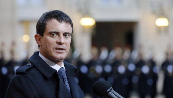 Manuel Valls, primer ministro de Francia, - Sputnik Mundo