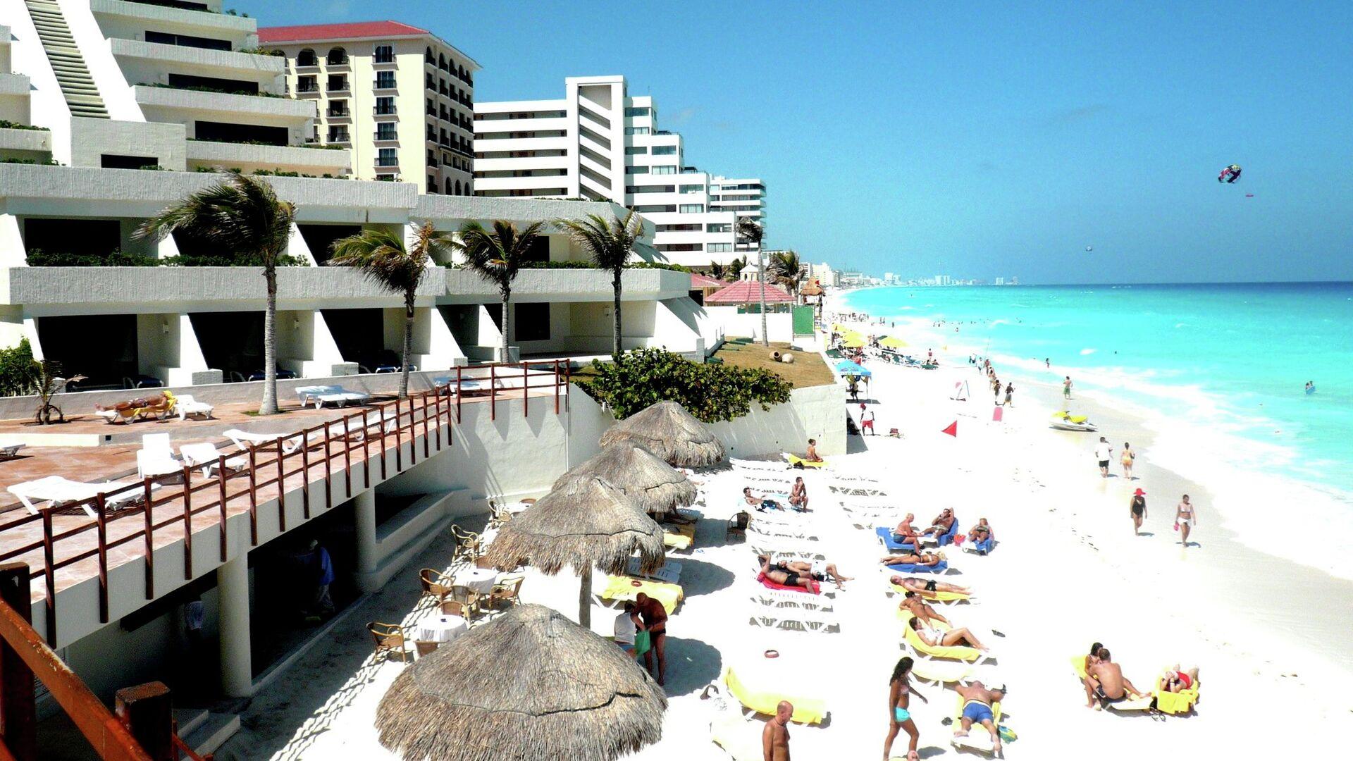 Ciudad turístico Cancun en México - Sputnik Mundo, 1920, 10.03.2021