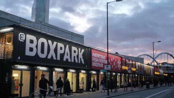 Centro comercial Boxpark en Londres - Sputnik Mundo