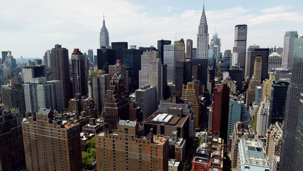 View of Manhattan May 12, 2014 from the United Nations headquarters building in New York - Sputnik Mundo