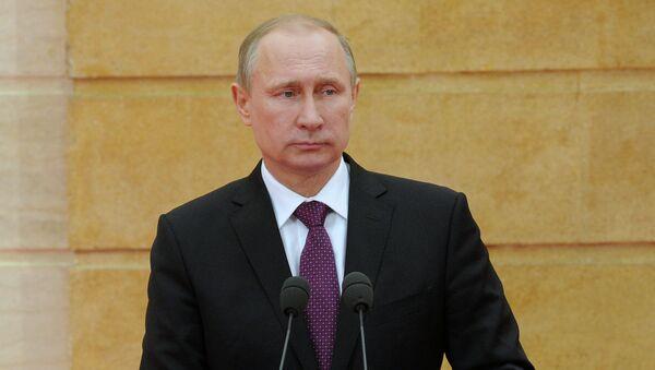 Russian President Vladimir Putin - Sputnik Mundo