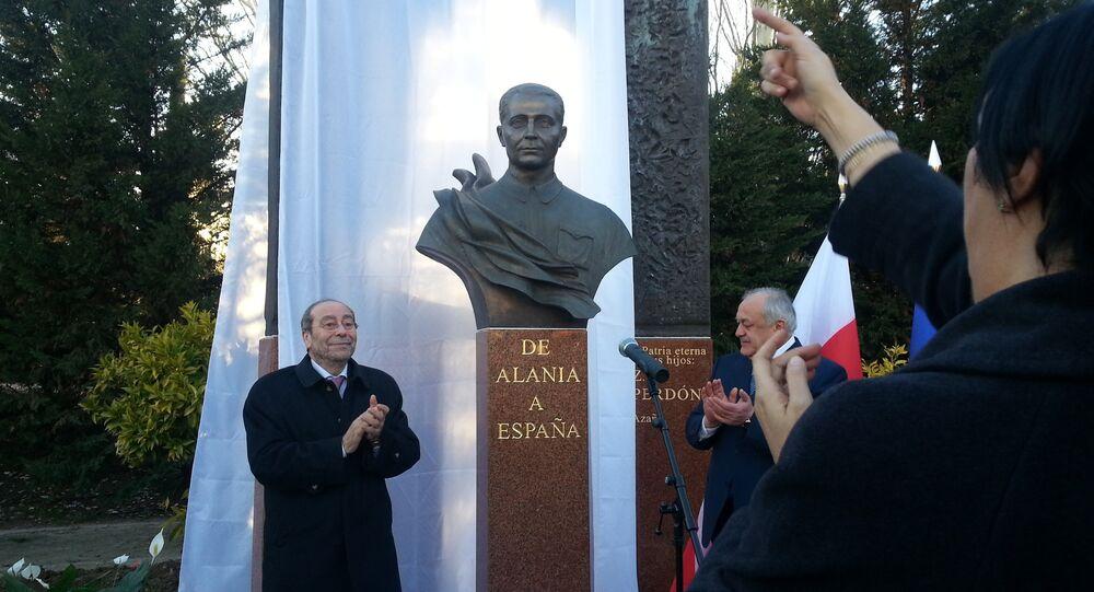 El héroe soviético Mamsúrov ya tiene su monumento en Fuenlabrada
