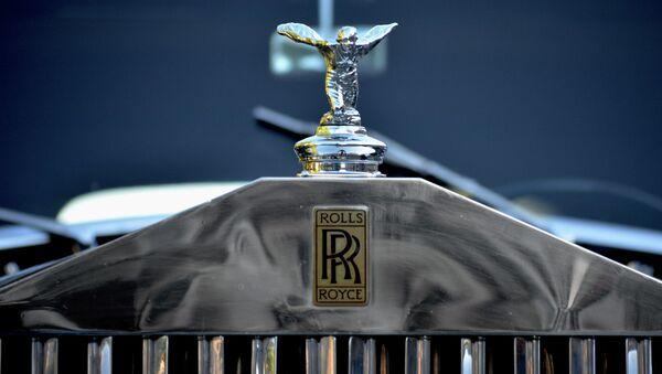 Logo de Rolls Royce - Sputnik Mundo