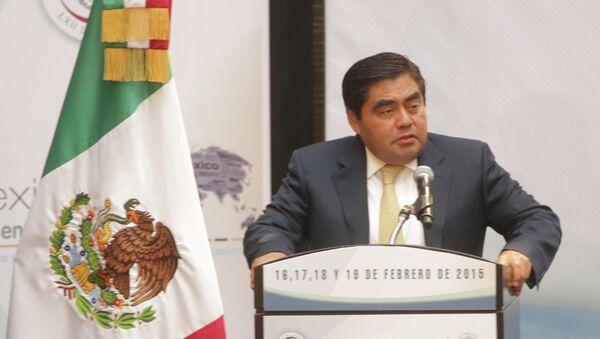Председатель Сената Мексики выступает на форуме Мексика в мире: диагностика и перспективы международных отношений - Sputnik Mundo