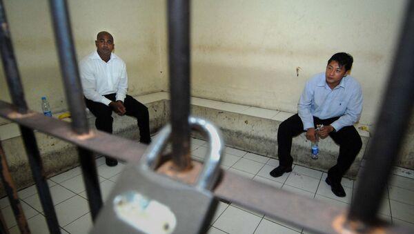 Myuran Sukumaran y Andrew Chan, australianos condenados a pena de muerte por tráfico de drogas (archivo) - Sputnik Mundo