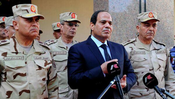 Abdelfatah al Sisi, presidente de Egipto (Archivo) - Sputnik Mundo