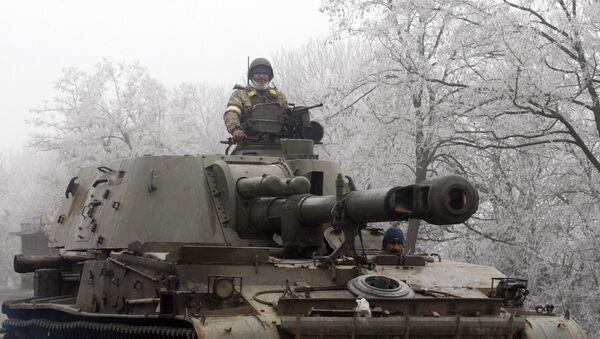 Militares ucranianos en el este de Ucrania - Sputnik Mundo