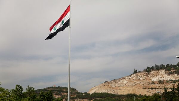 La bandera de Siria (archivo) - Sputnik Mundo