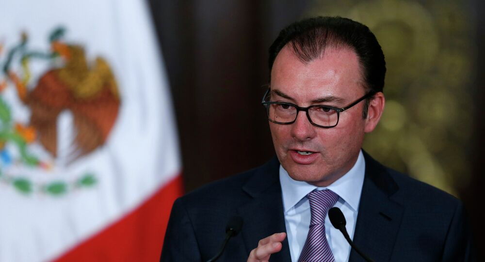 Canciller mexicano, Luis Videgaray