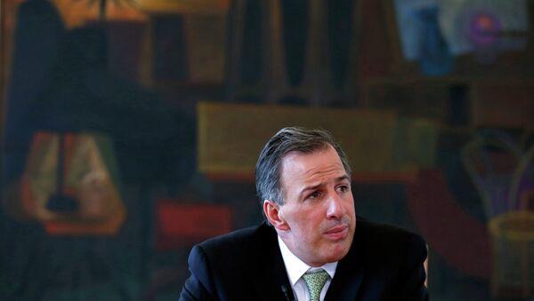 José Antonio Meade, secretario de Relaciones Exteriores de México - Sputnik Mundo