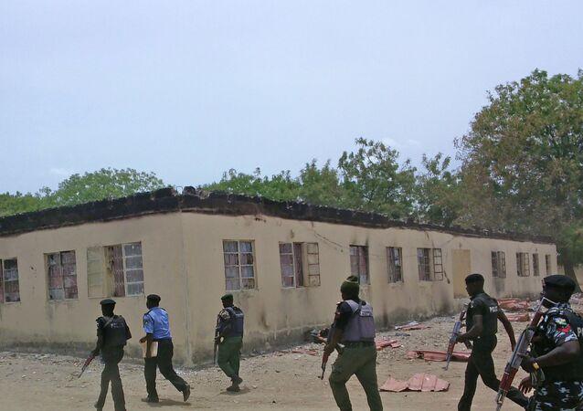 La policía de Nigeria (archivo)