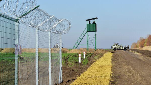 Frontera entre Rusia y Ucrania - Sputnik Mundo