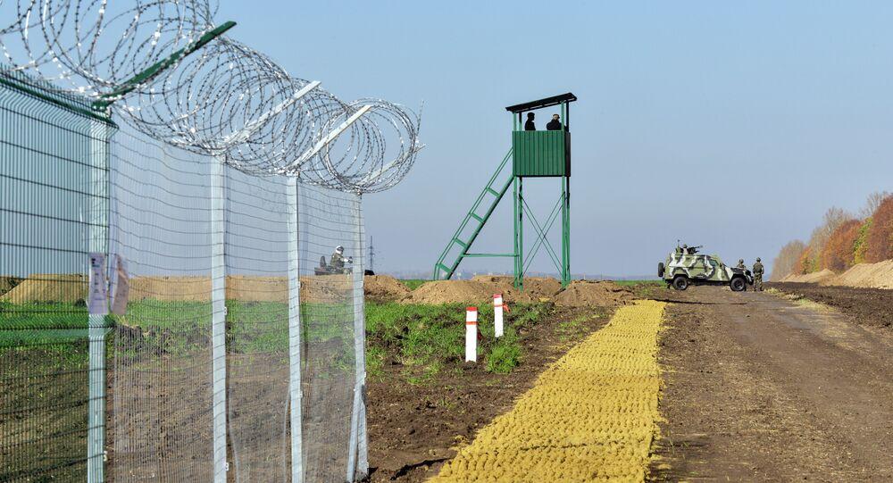 Frontera entre Rusia y Ucrania