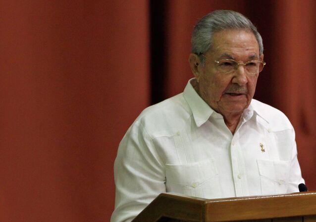 Raúl Castro, presidente de Cuba