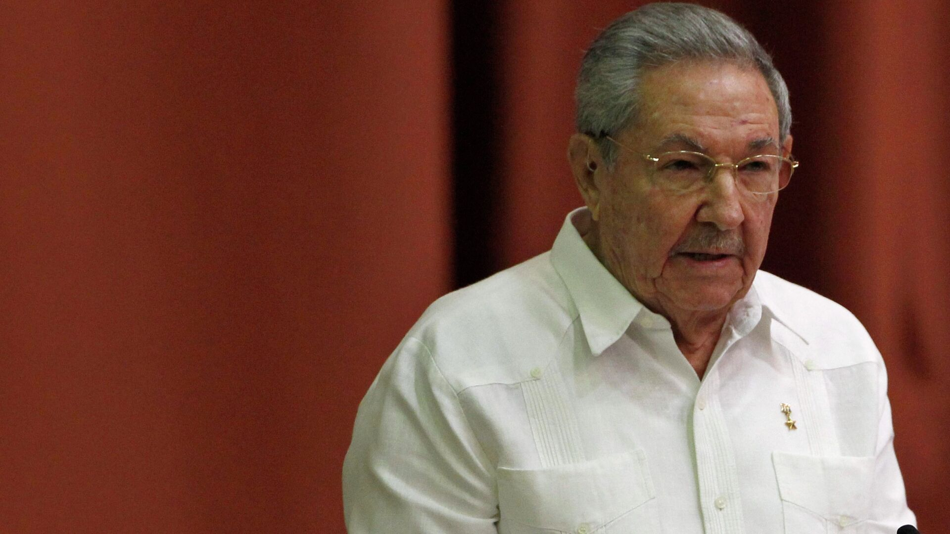 Cuba's President Raul Castro addresses the audience during the National Assembly in Havana December 20, 2014. - Sputnik Mundo, 1920, 16.04.2021