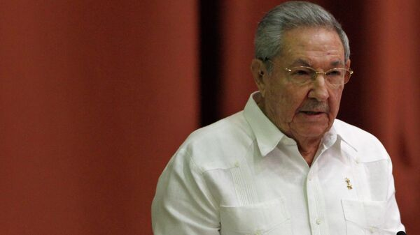 Cuba's President Raul Castro addresses the audience during the National Assembly in Havana December 20, 2014. - Sputnik Mundo
