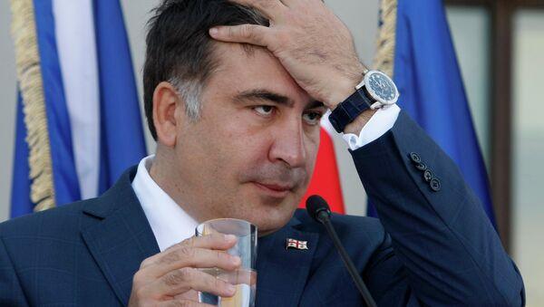 Mijaíl Saakashvili, el expresidente de Georgia - Sputnik Mundo