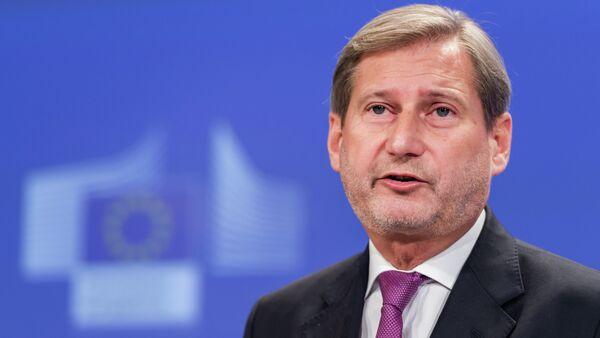 Johannes Hahn, comisario europeo de Política de Vecindad y para la Ampliación - Sputnik Mundo