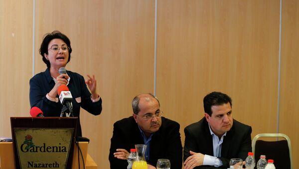 Hanin Zoabi, deputada - Sputnik Mundo
