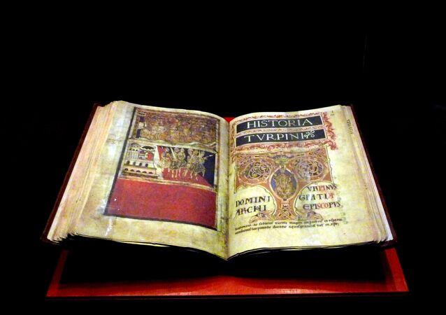 Códice Calixtino de la Catedral de Santiago de Compostela