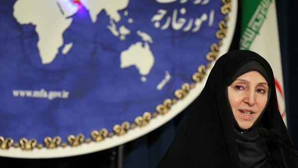 Iranian spokeswoman of the foreign ministry, Marzieh Afkham - Sputnik Mundo