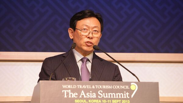 Dong-Bin SHIN (Chairman Lotte Group and Patron of The Asia Summit) - Sputnik Mundo