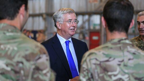 The Secretary of State for Defence Michael Fallon - Sputnik Mundo