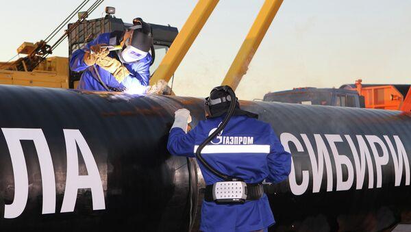 """Construcción del gasoducto """"La Fuerza de Siberia"""" - Sputnik Mundo"""