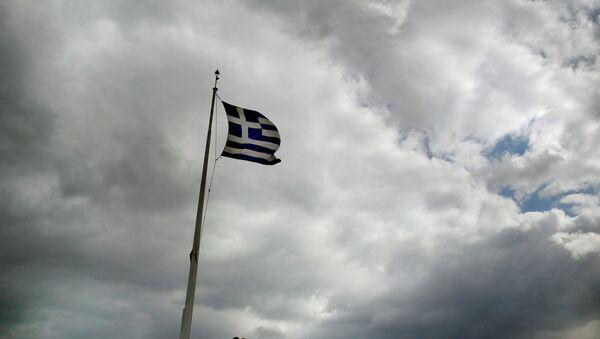 Bandera de Grecia (archivo) - Sputnik Mundo