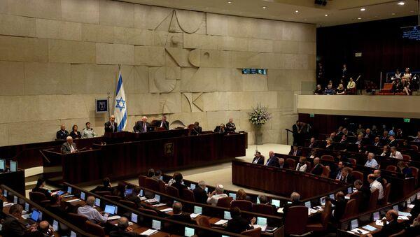 Parlamento de Israel - Sputnik Mundo
