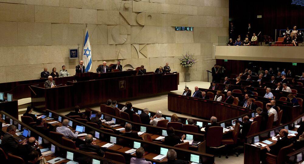 Knéset, parlamento de Israel (archivo)