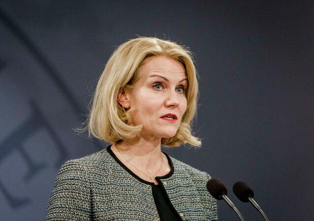 Helle Thorning-Schmidt, primera ministra de Dinamarca