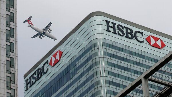 Sede de HSBC en Londres - Sputnik Mundo