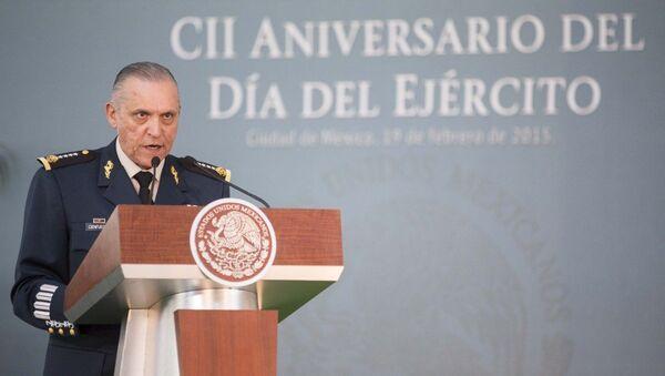 General Salvador Cienfuegos, secretario de la Defensa Nacional - Sputnik Mundo
