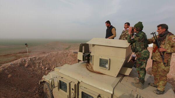 La operación para liberar la ciudad iraquí de Mosul (archivo) - Sputnik Mundo