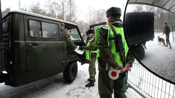 Guardas fronterizos rusos (archivo) - Sputnik Mundo