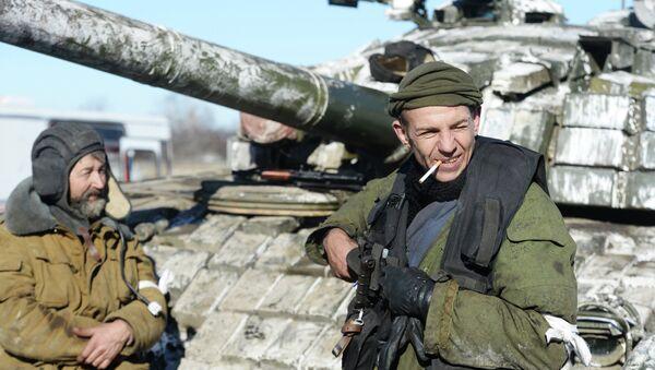 Milicianos de la RPL (Archivo) - Sputnik Mundo