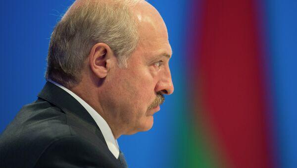 Alexandr Lukashenko, presidente de Bielorrusia, - Sputnik Mundo