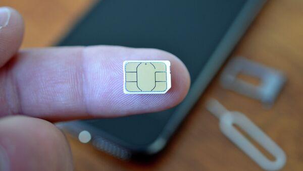 Extra small SIM card - Sputnik Mundo