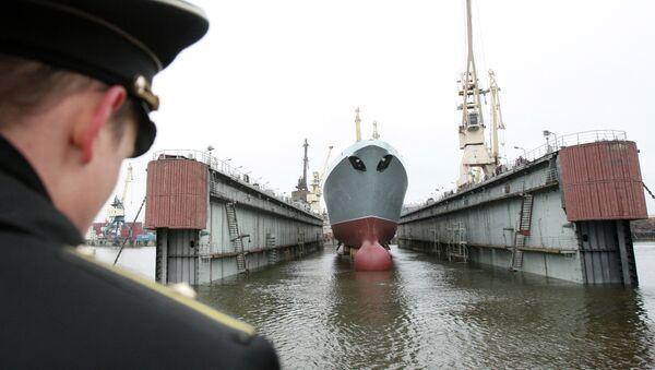 Astillero de San Petersburgo - Sputnik Mundo