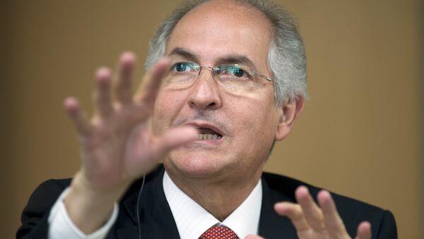Antonio Ledezma, el opositor venezolano - Sputnik Mundo