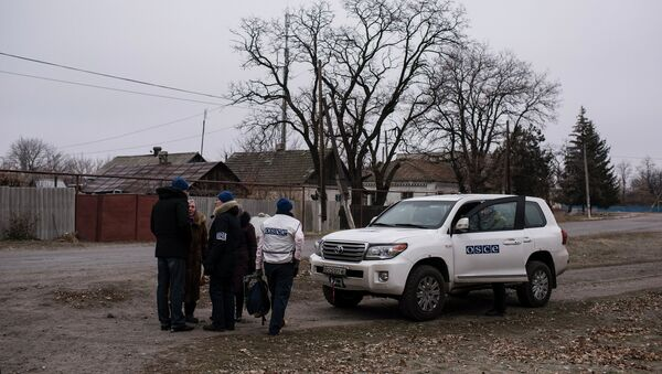 OSCE Special Monitoring Mission in Ukraine - Sputnik Mundo