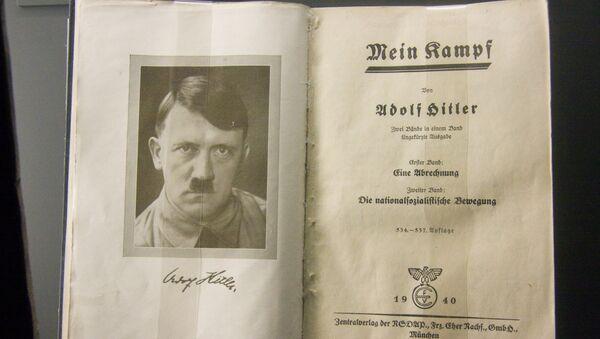 Mi lucha (Mein Kampf) de Adolf Hitler - Sputnik Mundo